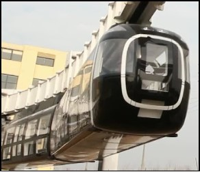 CRRC Suspended Monorail