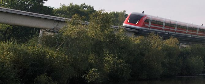 TR09 Maglev at Emsland   - Transrapid