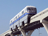 Hitachi's Palm Jumeirah Dubai Monorail