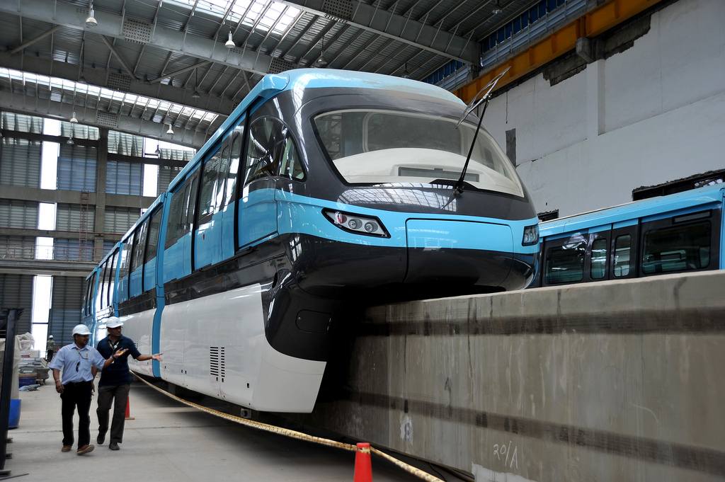 Scomi Monorail Train